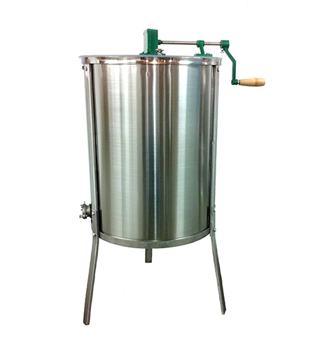 Four frame hand operated extractor